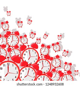 Lots Of Alarm Clocks Stock Vectors Images Vector Art Shutterstock