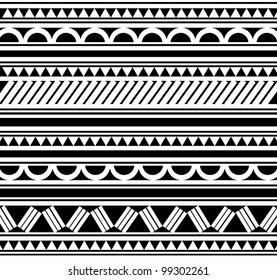 Polynesian Tattoo Bilder Stockfotos Vektorgrafiken Shutterstock
