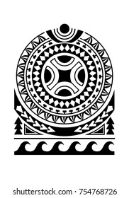 Maori tatoo design for shoulder