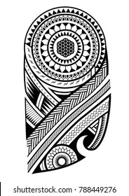 maori tattoo design for upper arm