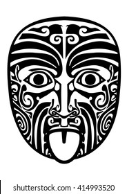 Maori traditional mask.