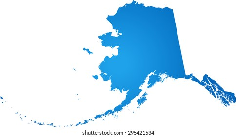 Alaska Map Outline Stock Illustrations Images Vectors Shutterstock