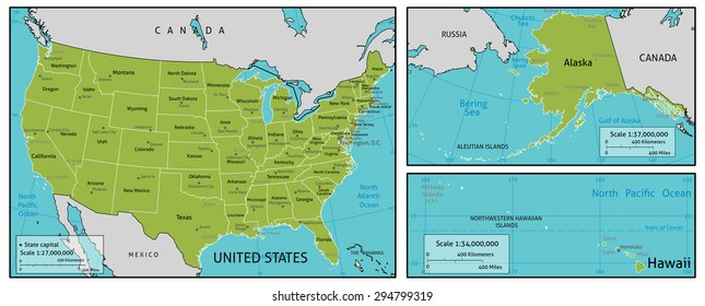 United States Map Layers Images, Stock Photos & Vectors ...