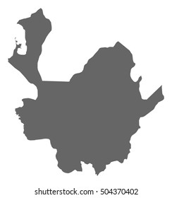 Map - Antioquia (Colombia)