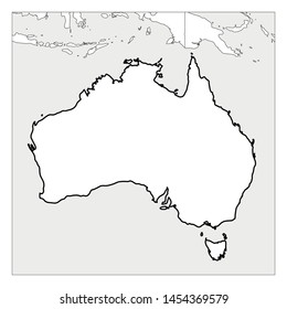 Map Outline Australia.Australia Map Outline Images Stock Photos Vectors Shutterstock