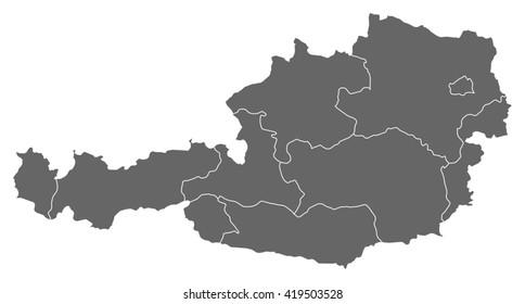 Map - Austria