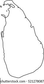 Sri Lanka Map Images, Stock Photos & Vectors   Shutterstock