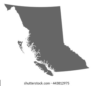 Map - British Columbia (Canada)