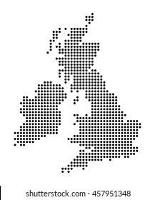 Map of British islands