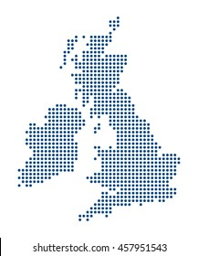 Map of British islands