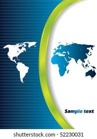 Map brochure