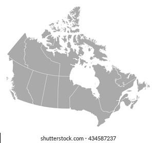 Map - Canada