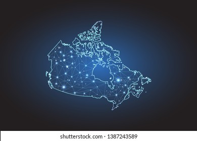 Digital Map Canada Digital Canada High Res Stock Images | Shutterstock