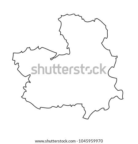 La Mancha Spain Map.Map Castile La Mancha Spain Vector Stock Vector Royalty Free
