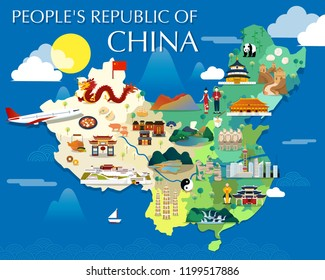 China Map Cartoon Images, Stock Photos & Vectors | Shutterstock on