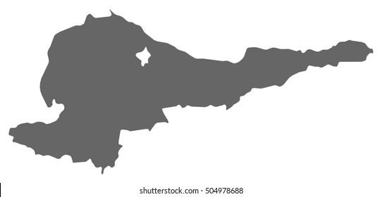 Map - Chuy (Kyrgyzstan)
