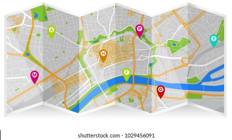 Usa Road Map Images, Stock Photos & Vectors | Shutterstock