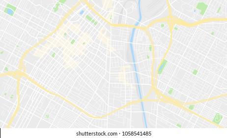 map city los angeles
