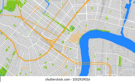 map city new orleans