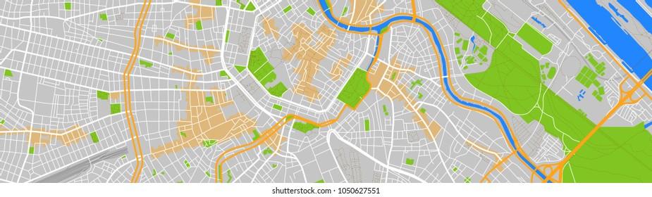 map city vienna