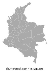 Map - Colombia