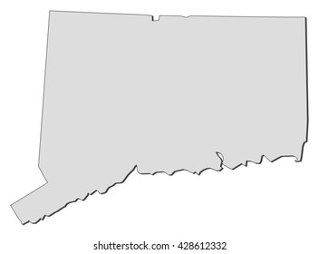 Map - Connecticut (United States)