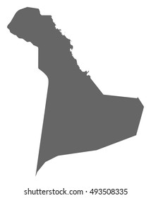Map - Eastern Province (Saudi Arabia)
