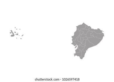 map of ecuador