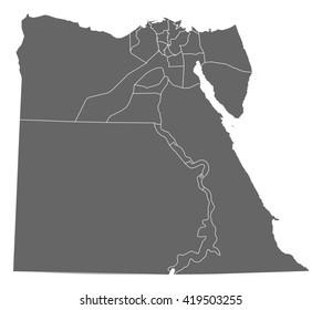 Map - Egypt