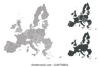 Map of EU
