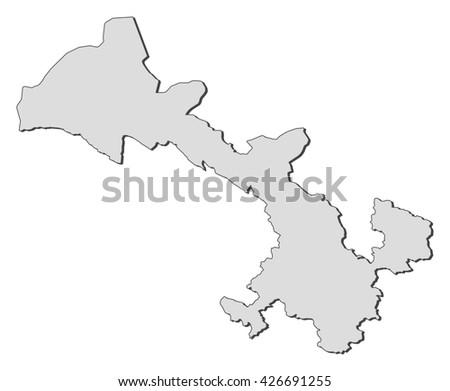 Gansu China Map.Map Gansu China Stock Vector Royalty Free 426691255 Shutterstock