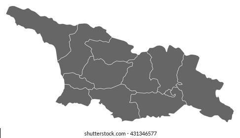 Map - Georgia