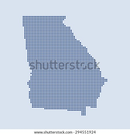 Free Map Of Georgia.Map Georgia Stock Vector Royalty Free 294551924 Shutterstock