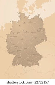 Map Of Germany Austria.River Map Germany Images Stock Photos Vectors Shutterstock