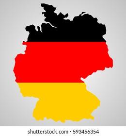 Silhouette Deutschland Images Stock Photos Vectors Shutterstock