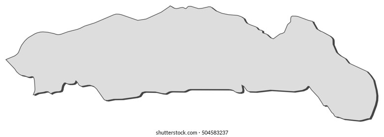 Map - Gorontalo (Indonesia)