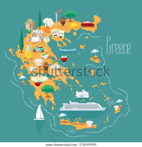 Map Greece Islands Vector Illustration Design Stock Vector ... on switzerland map, greece map, mykonos map, zakynthos map, shetland islands map, kos map, tuscany map, hawaiian islands map, arabian islands map, tokyo map, popular islands map, lost islands map, kefalonia map, singapore map, lesvos map, bohemian islands map, turkish islands map, portugal map, thessaloniki map, patmos map, south africa map, corfu map, santorini map, chania map, mediterranean map, fiji map,