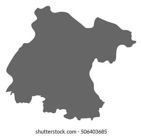 Map - Guanajuato (Mexico)