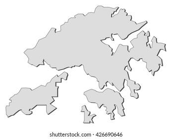 Map - Hong Kong (China)