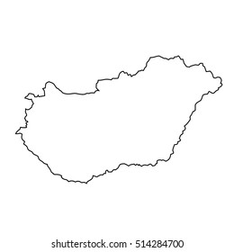 Map of Hungary