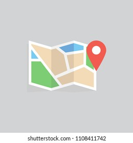 MAP ICON CONCEPT