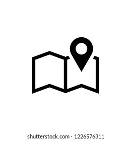 map icon vector, location icons eps10