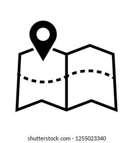 Vectores, imágenes y arte vectorial de stock sobre Map Icon