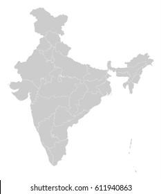 Map - India