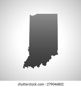 map of Indiana