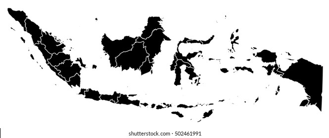 Map - Indonesia
