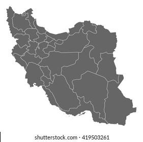 Map - Iran