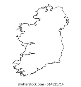 Map Of Ireland Black And White.Ireland Map Images Stock Photos Vectors Shutterstock