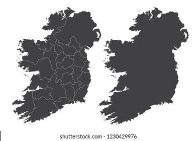 Map Of Ireland Vector.Ireland Map Images Stock Photos Vectors Shutterstock