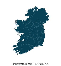 Detailed Map Of Ireland.Ireland Map Images Stock Photos Vectors Shutterstock